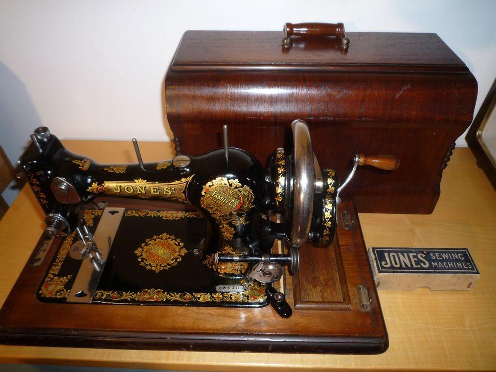 antica macchina da cucire jones primi 900 cose preziose