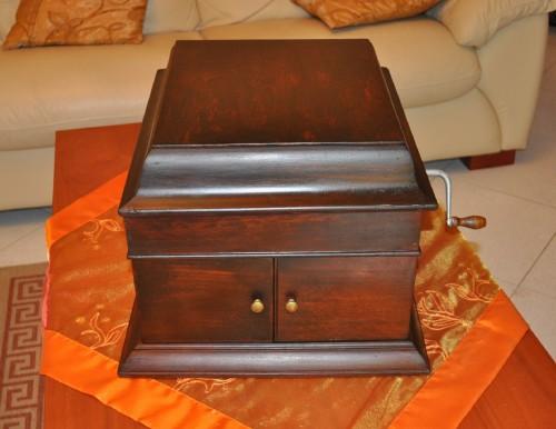 Antico grammofono,vecchio grammofono