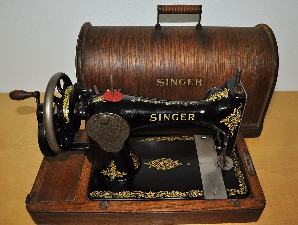 antica macchina da cucire singer 128k del 1925 cose