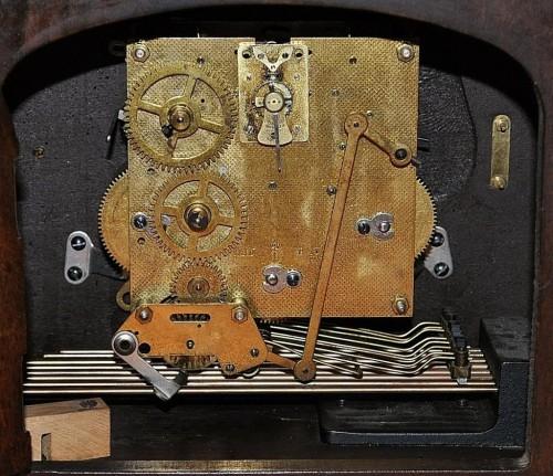 Antico raro Orologio Tedesco Westmister 8 matelli Epoca 1920'