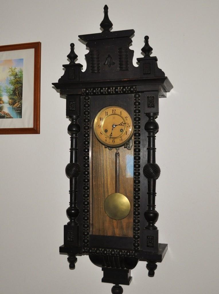 orologi da parete antichi : Antico Orologio Tedesco Junghans Epoca fine ?800 a pendolo da parete