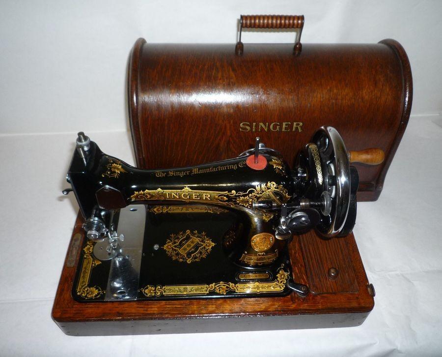 antica macchina da cucire singer cose preziose